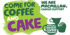 McMillan Cancer - World's Biggest Coffee Morning @ Helwith Bridge Inn